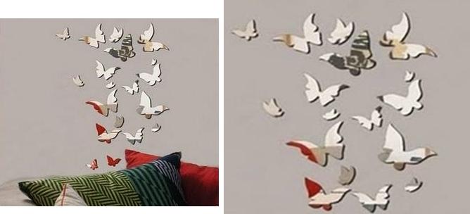 Dekoratif Sticker Ayna Modeli (3)