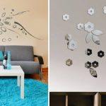 Dekoratif Sticker Ayna Modeli (4)