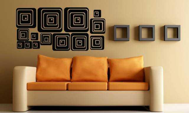 Renkli Duvar Sticker Modelleri (9)