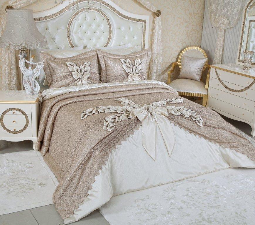 2015 modasi ceyizlik yatak ortusu modelleri