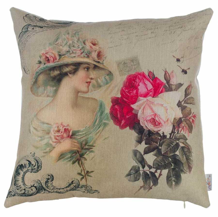 apolena bella rose dekoratif kirlent