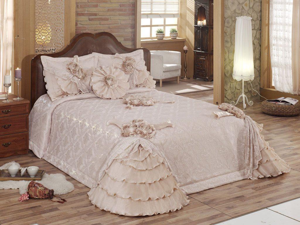 ceyizlik yatak ortusu modelleri 2015