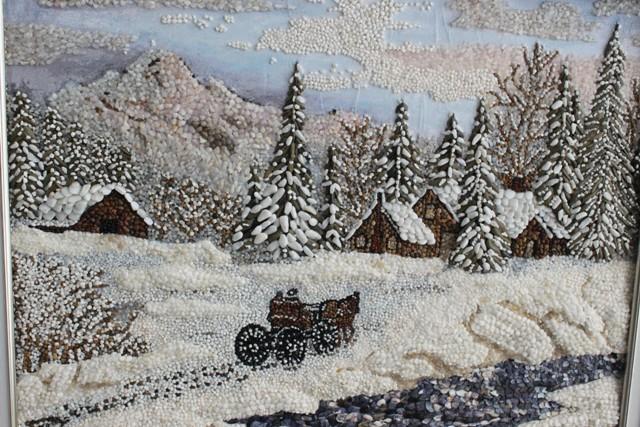 dogal tas ve kumdan dekoratif tablolar