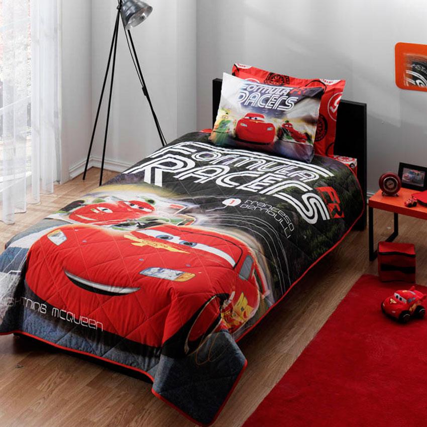 tac erkek cocuk yatak ortusu