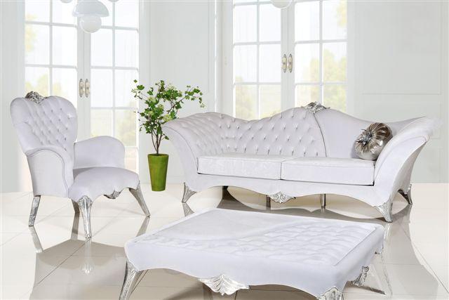 vettore beyaz orkide klasik koltuk takimi