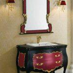 Klasik Banyo Dolap Modelleri (7)