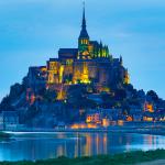 Le Mont Saint Michel Kalesi FRANSA