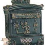 Nostaljik ve Dekoratif Antika Posta Kutusu Modelleri (9)