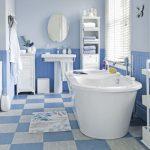Mavi Banyo Dekorasyonu Fikirleri (10)