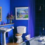 Mavi Banyo Dekorasyonu Fikirleri (12)