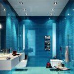 Mavi Banyo Dekorasyonu Fikirleri (14)
