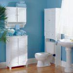 Mavi Banyo Dekorasyonu Fikirleri (15)