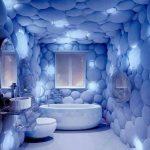 Mavi Banyo Dekorasyonu Fikirleri (16)
