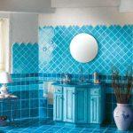 Mavi Banyo Dekorasyonu Fikirleri (17)
