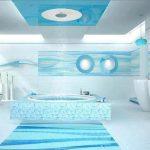 Mavi Banyo Dekorasyonu Fikirleri (19)