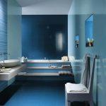 Mavi Banyo Dekorasyonu Fikirleri (23)