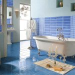Mavi Banyo Dekorasyonu Fikirleri (3)
