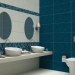 Mavi Banyo Dekorasyonu Fikirleri (5)