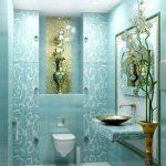 Mavi Banyo Dekorasyonu Fikirleri (9)