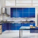 Mavi Mutfak Dekorasyon Fikirleri (11)