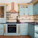 Mavi Mutfak Dekorasyon Fikirleri (13)