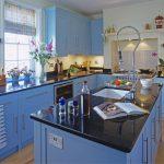 Mavi Mutfak Dekorasyon Fikirleri (14)