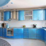 Mavi Mutfak Dekorasyon Fikirleri (16)