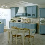 Mavi Mutfak Dekorasyon Fikirleri (17)