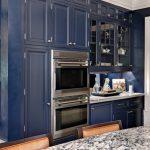 Mavi Mutfak Dekorasyon Fikirleri (2)
