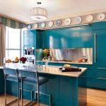 Mavi Mutfak Dekorasyon Fikirleri (20)