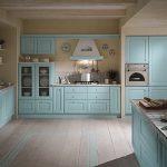 Mavi Mutfak Dekorasyon Fikirleri (21)