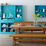 Mavi Mutfak Dekorasyon Fikirleri (22)