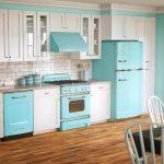 Mavi Mutfak Dekorasyon Fikirleri (3)
