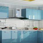 Mavi Mutfak Dekorasyon Fikirleri (4)