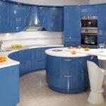 Mavi Mutfak Dekorasyon Fikirleri (7)