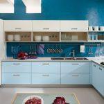 Mavi Mutfak Dekorasyon Fikirleri (8)