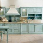 Mavi Mutfak Dekorasyon Fikirleri (9)