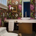 renkli desenli banyo duvar kagitlari