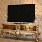 Klasik Stil Televizyon Sehpa Modelleri (16)