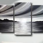 Siyah-Beyaz Kanvas Dekoratif Tablo Modelleri (11)