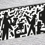Siyah-Beyaz Kanvas Dekoratif Tablo Modelleri (13)