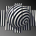 Siyah-Beyaz Kanvas Dekoratif Tablo Modelleri (22)