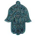 Turkuaz Renkli Dekoratif Seramik Aksesuarlar (18)