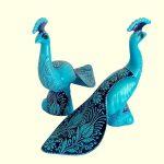 Turkuaz Renkli Dekoratif Seramik Aksesuarlar (2)