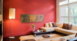 Salon Dekorasyonu Duvar Rengi Modelleri