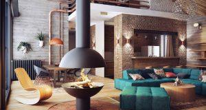 loft-stil-ev-dekorasyonu-6